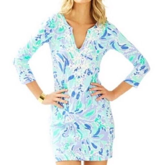 f15981a581d437 Lilly Pulitzer Dresses & Skirts - Lilly Pulitzer Marina Dress Print is Nice  Ink